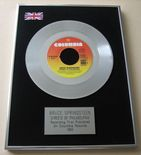 BRUCE SPRINGSTEEN - Streets Of Philadelphia Platinum Single Presentation Disc